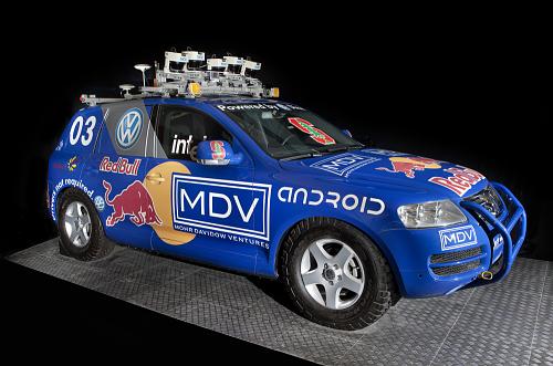 """Stanley"" Robot Car 2004"