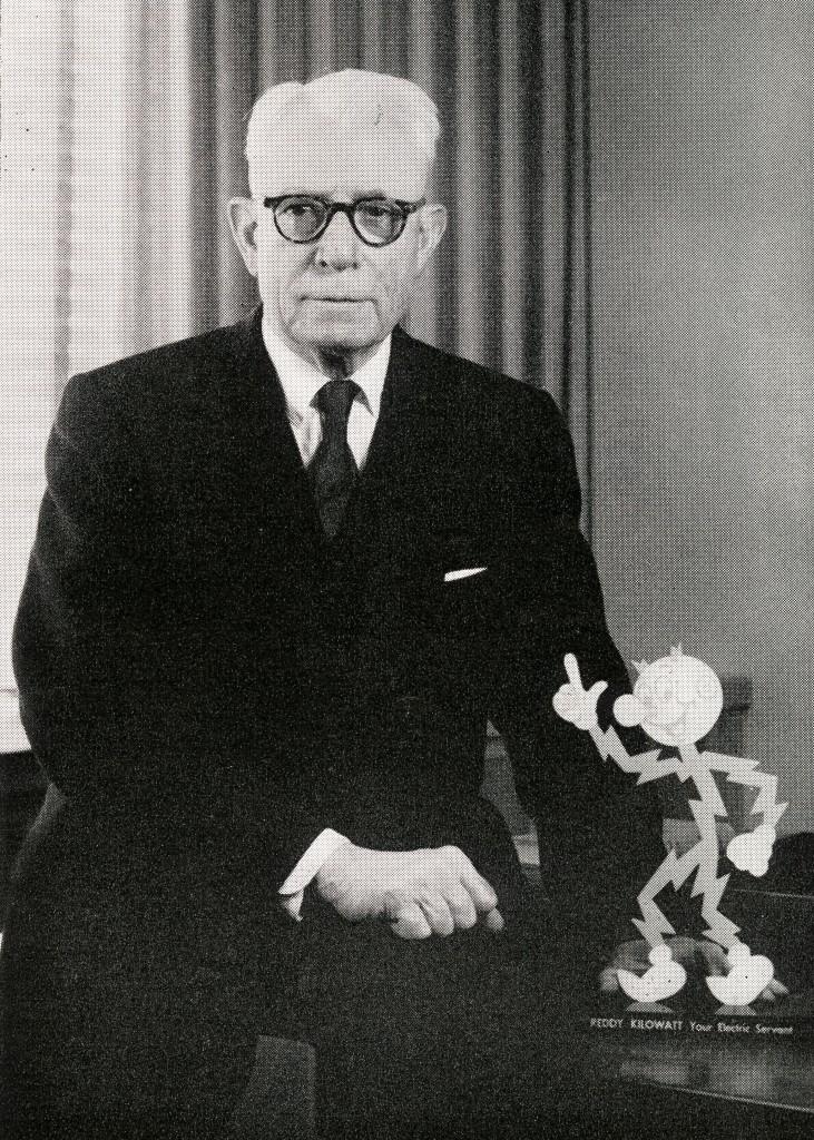 Image of Ashton Collins in NSP News, September 1962.