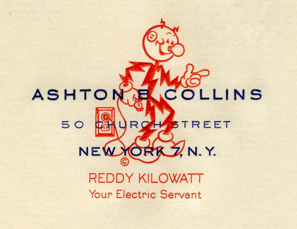 Letterhead of Ashton B. Collins, April 17, 1948.