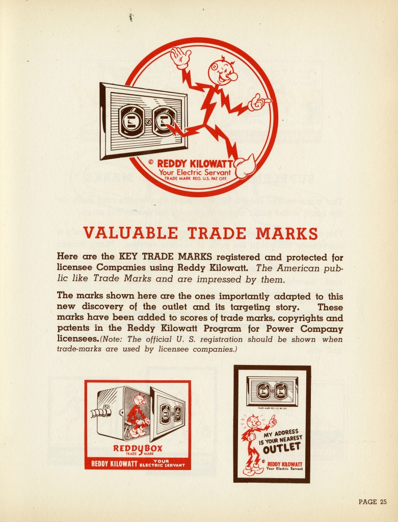 Valuable Trade Marks from The Master Link, Power Company Customers, 1944.