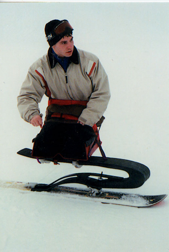 An accessible snowboard