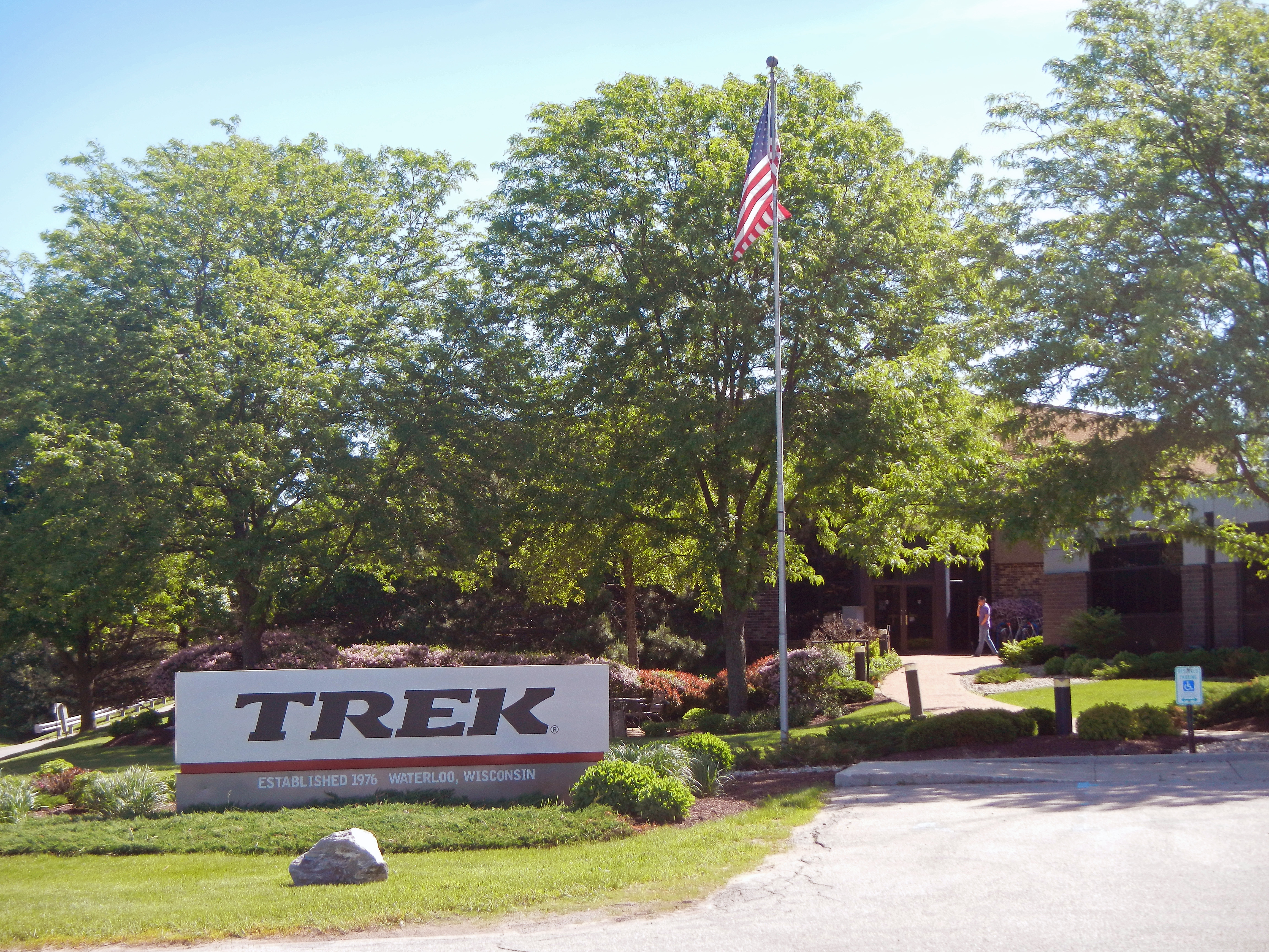 Entrance to Trek headquarters