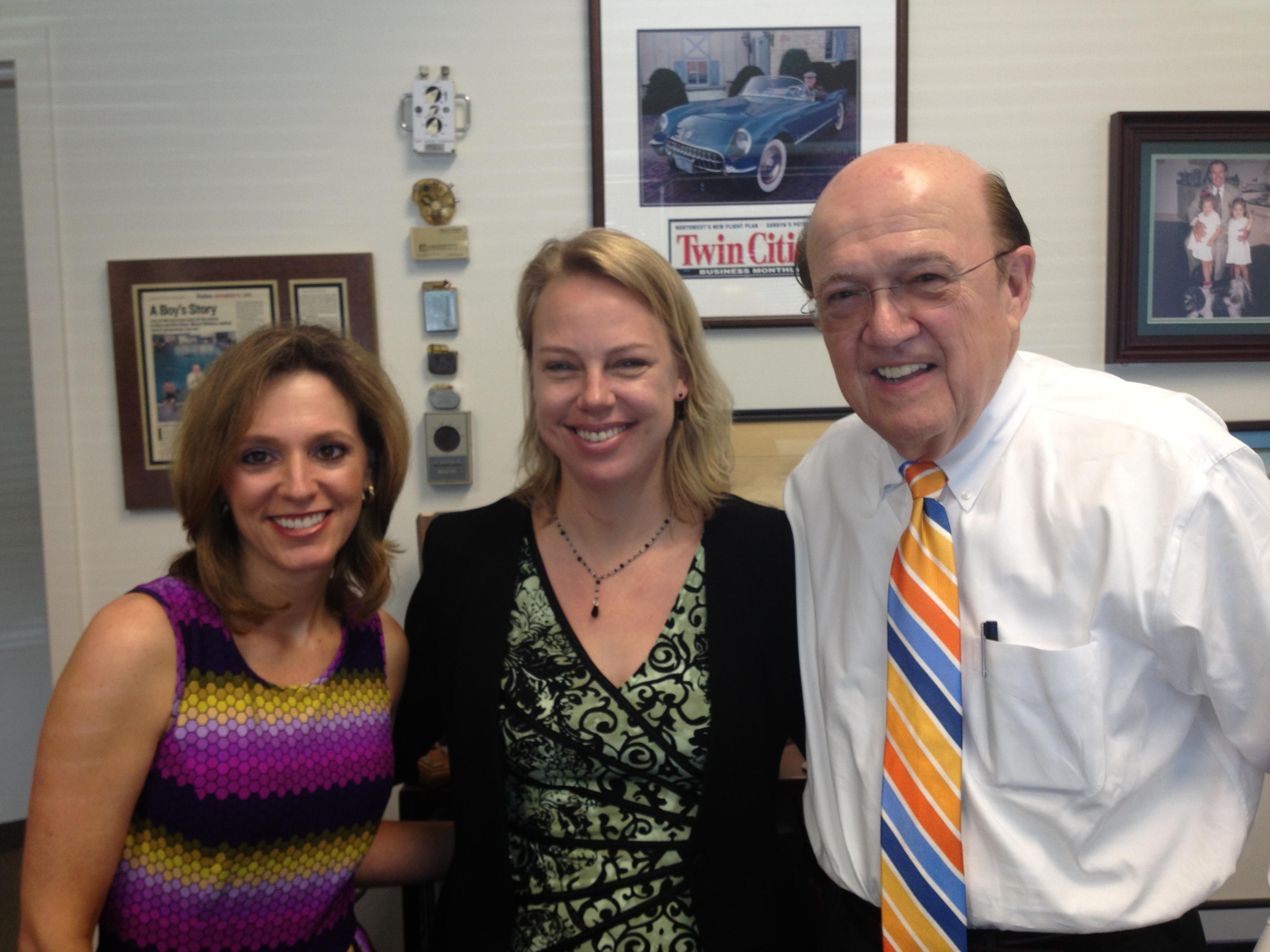 Kari Fantasia, Monica Smith, and Manny Villafaña at Kips Bay Medical, June 28, 2013.