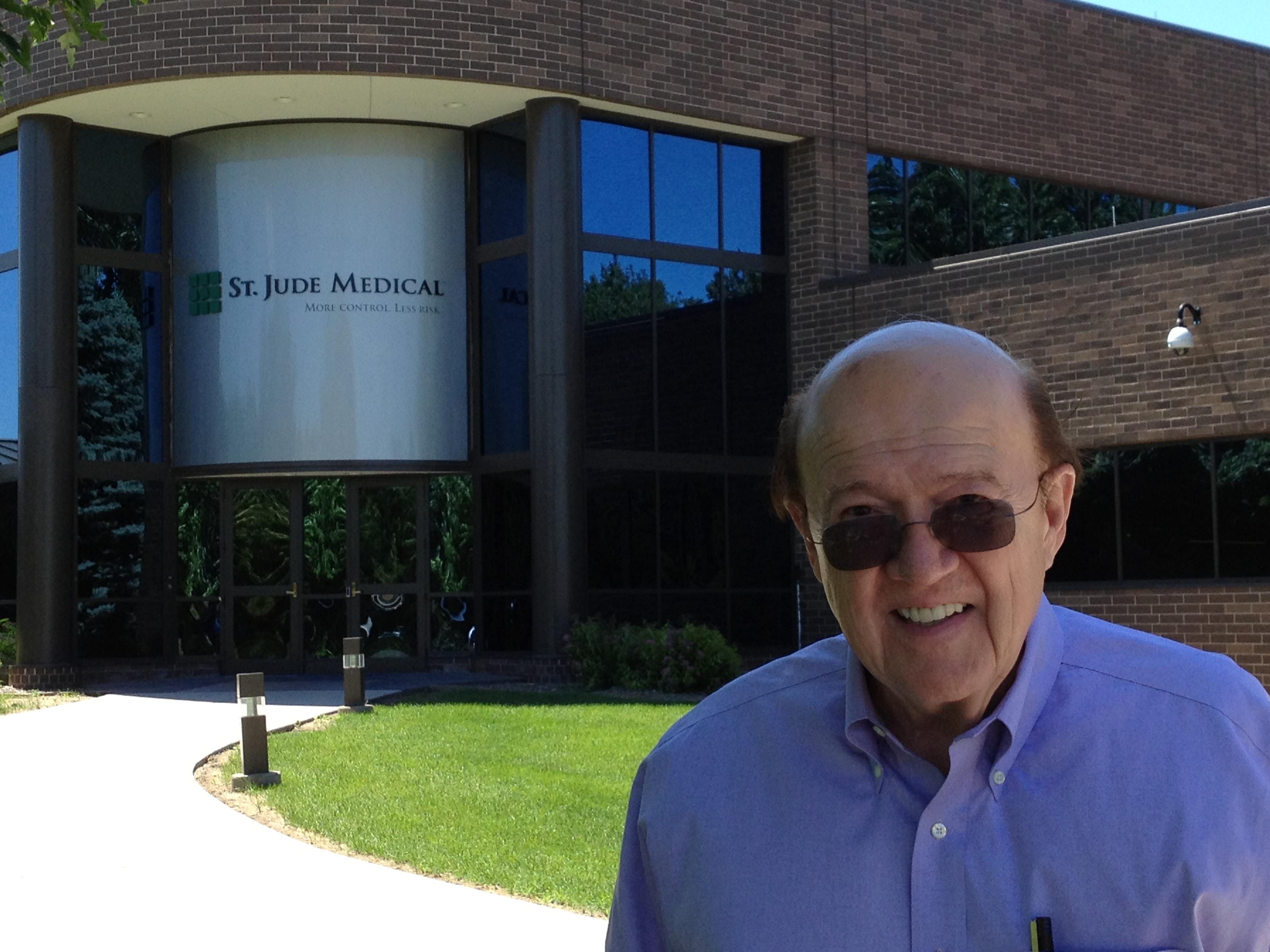 Manny Villafaña at St. Jude Medical, June 27, 2013.