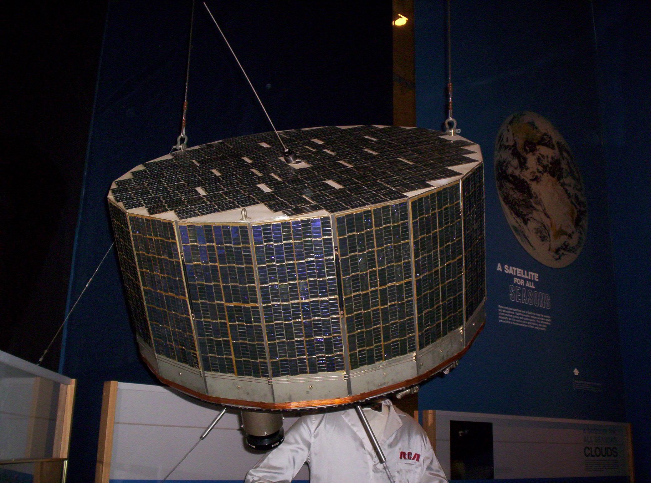 Tiros satellite.