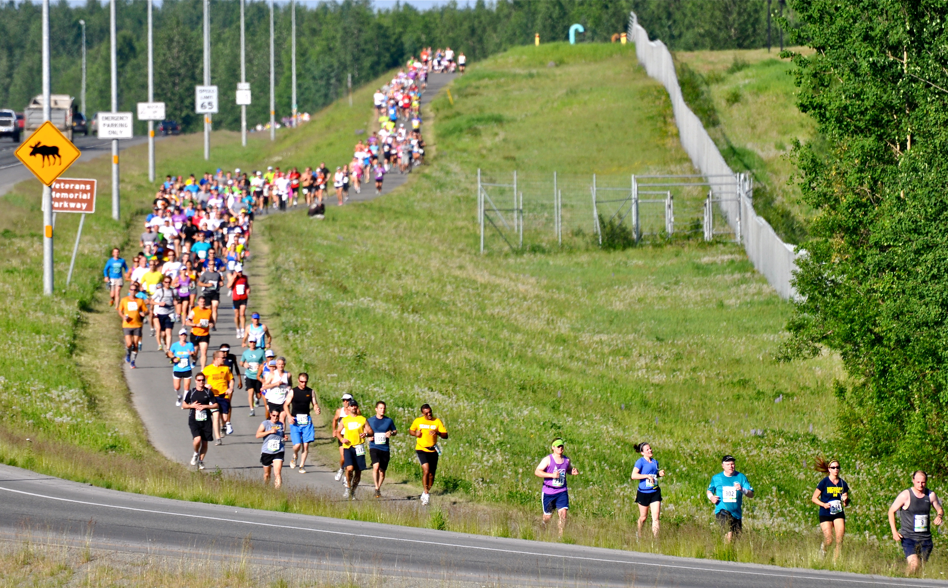 Running the Mayor's Marathon in Anchorage, Alaska