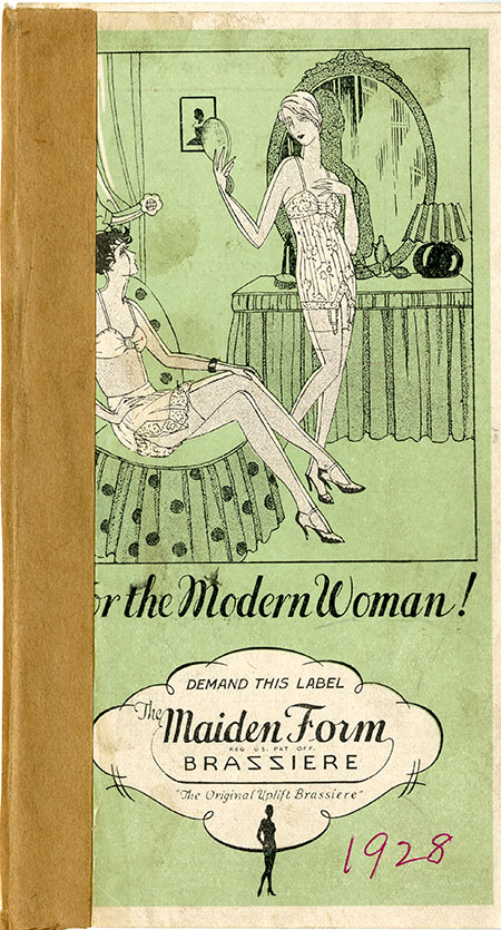 Pamphlet with 2 women in lingerie on the cover