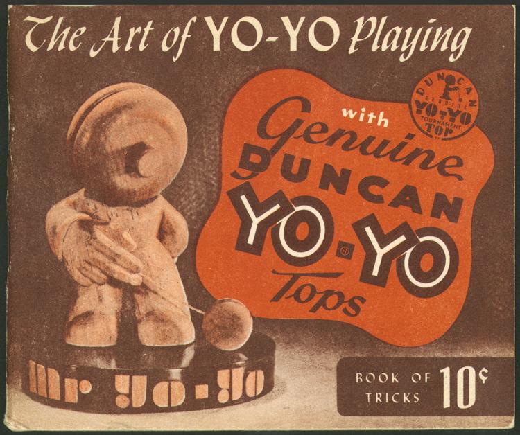 Image of yoyo book of tricks