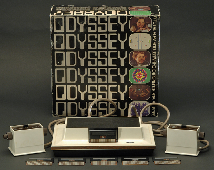 Magnavox Odyssey video game unit, 1972