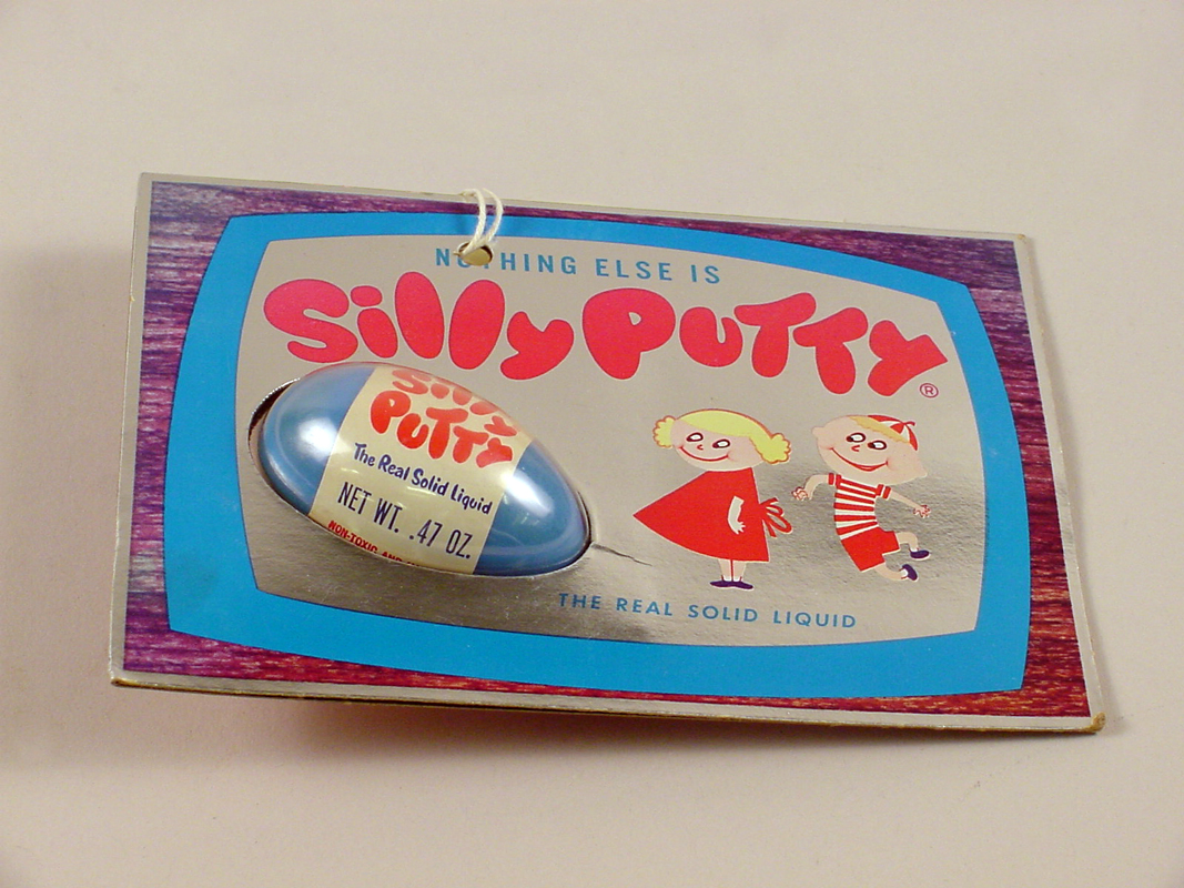 Image of Silly Putty box