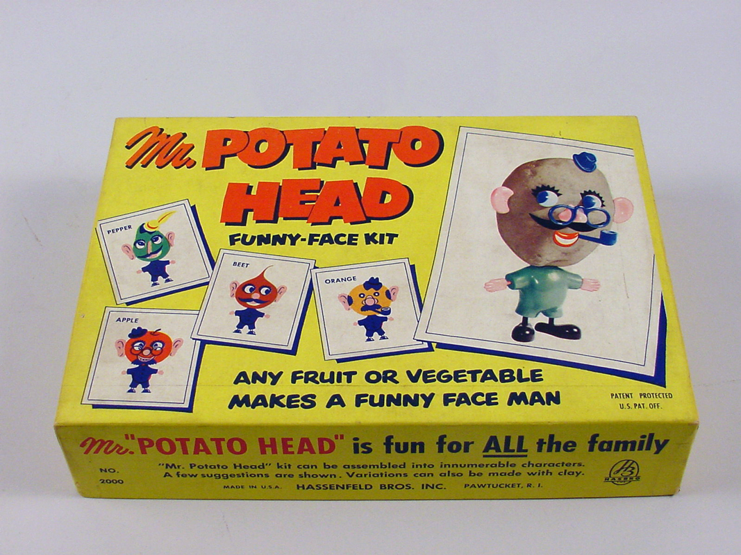 Image of original Mr. Potato Head® Funny-Face Kit
