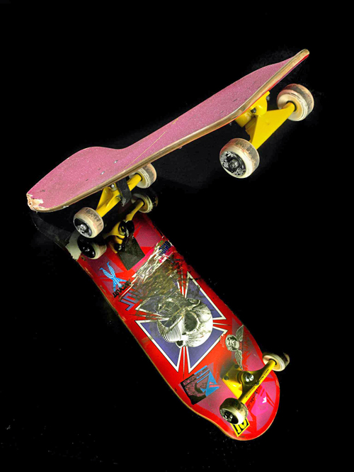 1986 Tony Hawk pro model skateboard