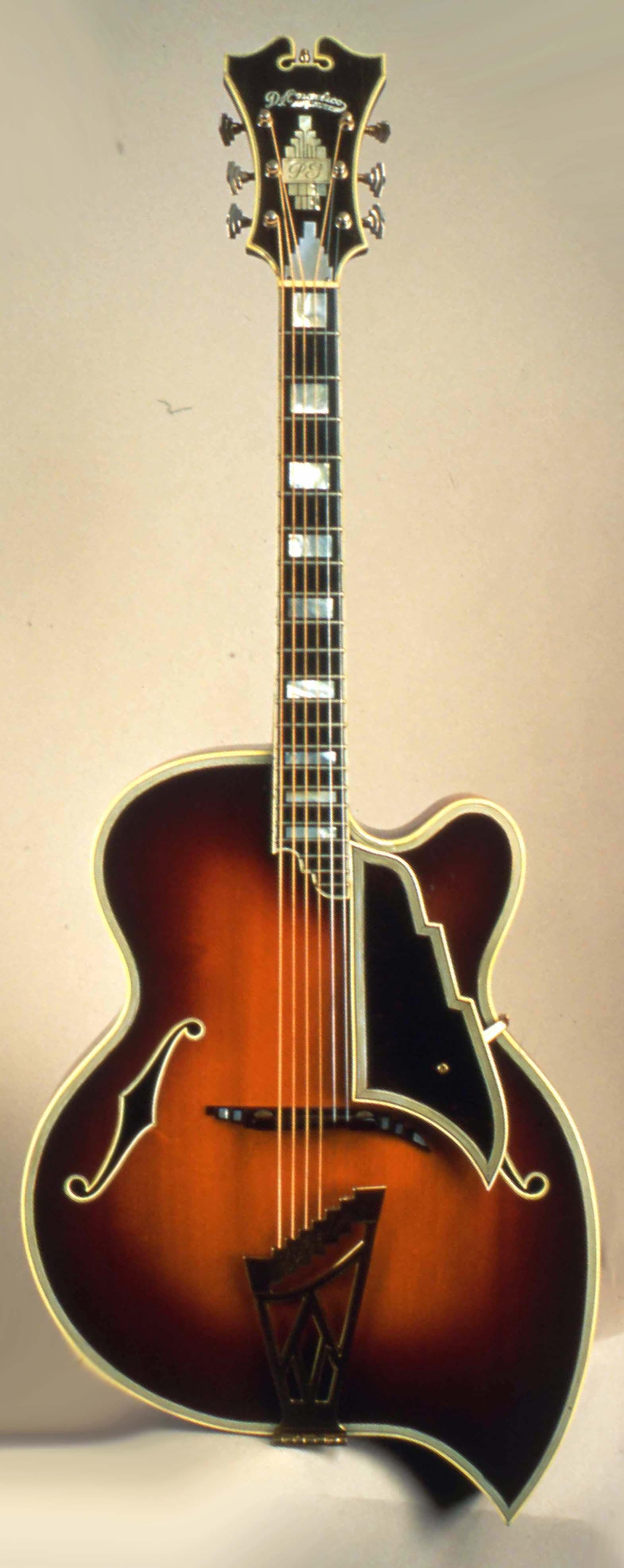 "Photo of the D""Angelico Teardop Guitar"