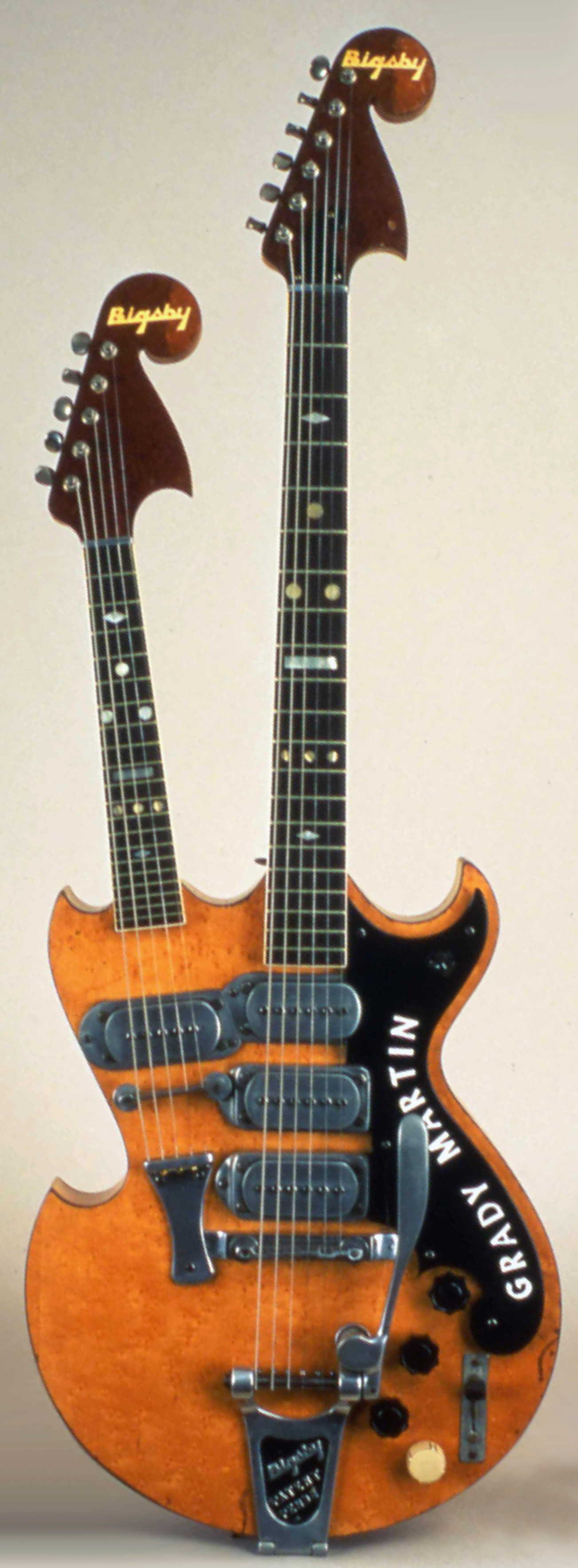 Image of Bigsby Double Neck Guitar