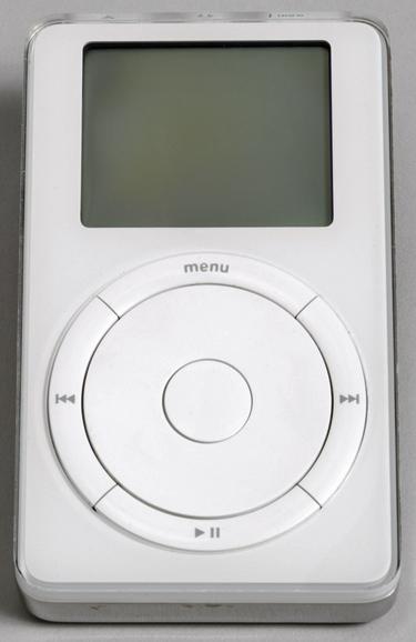 First generation iPod, 2001