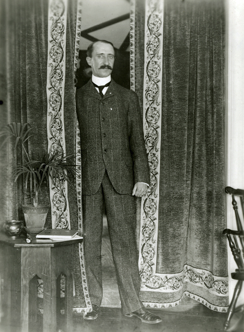 Photograph of Charles R. Pratt, about 1903-1904