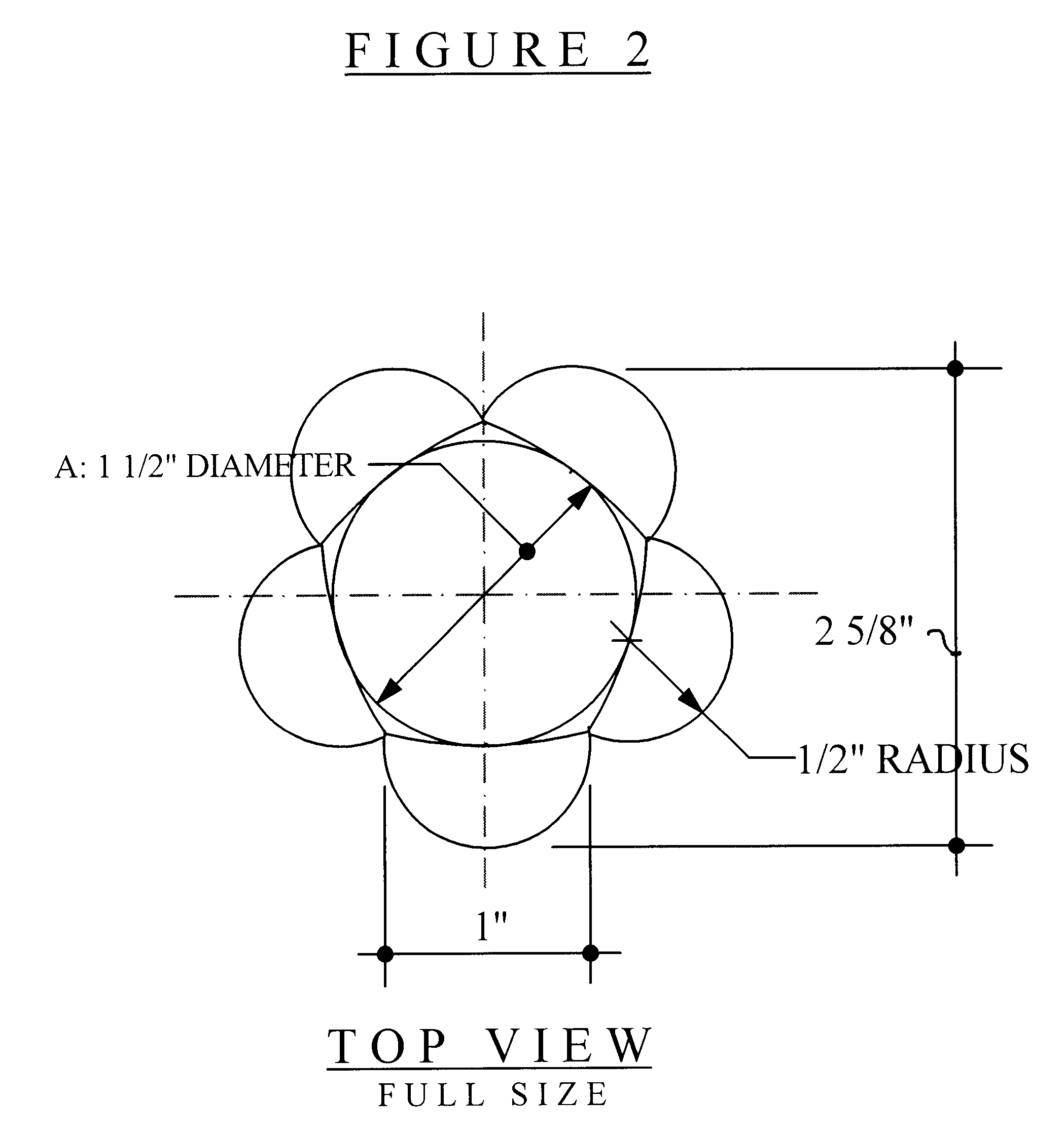 Patent drawing for reaction ball, intended to train ball players for unpredictable bounces.