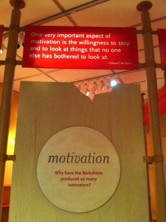 The Feigenbaum Hall of Innovation, Berkshire Museum, Pittsfield, MA.