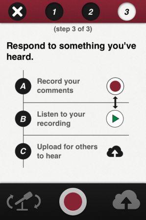 American Stories app screen 3