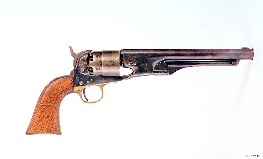 Colt Army revolver, 1860