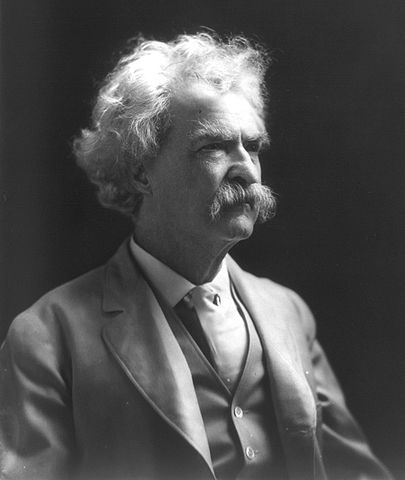 Mark Twain, courtesy of the Library of Congress.