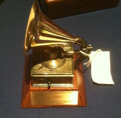 Grammy Award won by Ella Fitzgerald.