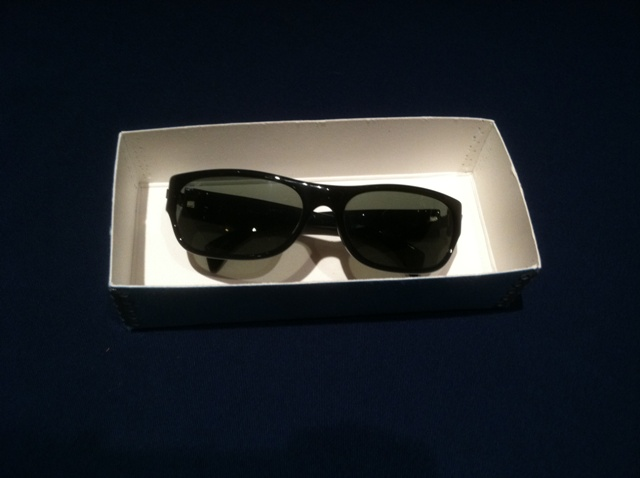 Ray Bans worn by Ray Charles.