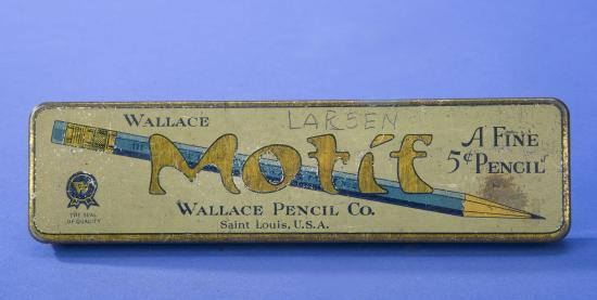 Metal Pencil Box from early 1900s