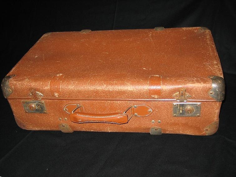 immigrant Miljenko Grgich's 1950s suitcase