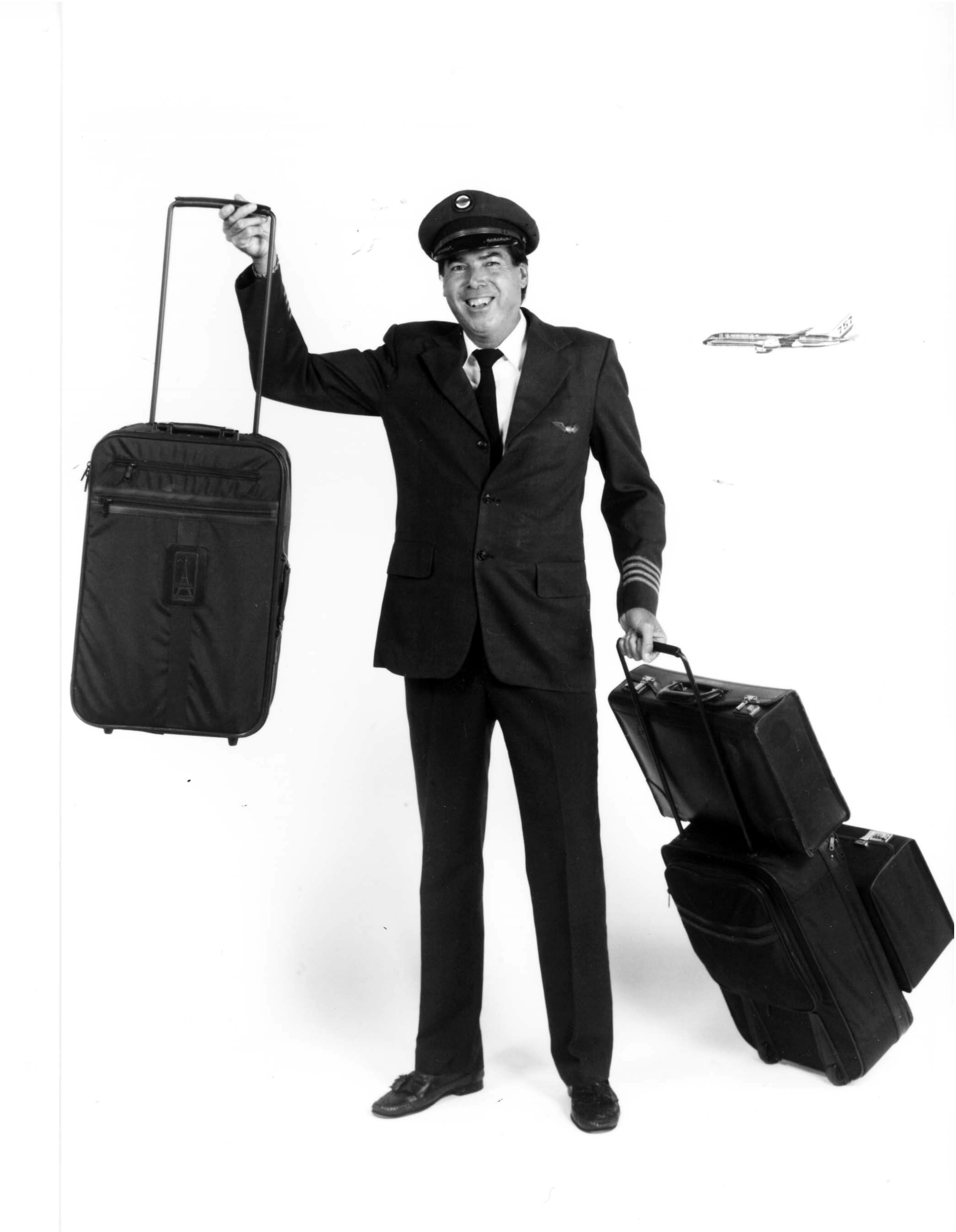 Robert Plath and Rollaboard Luggage