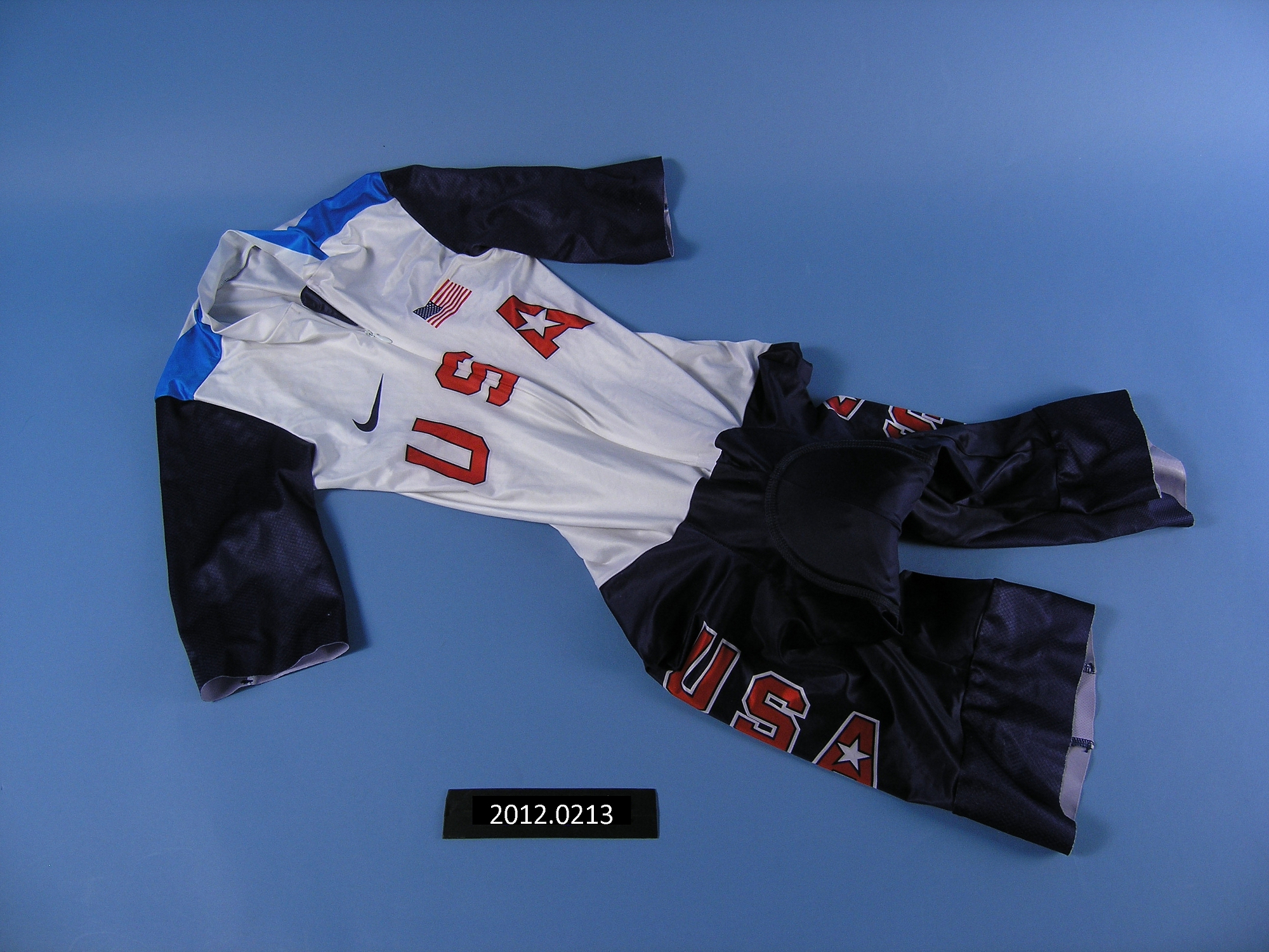 2008 Olympic Cycling Uniform worn by Bobby Lee.