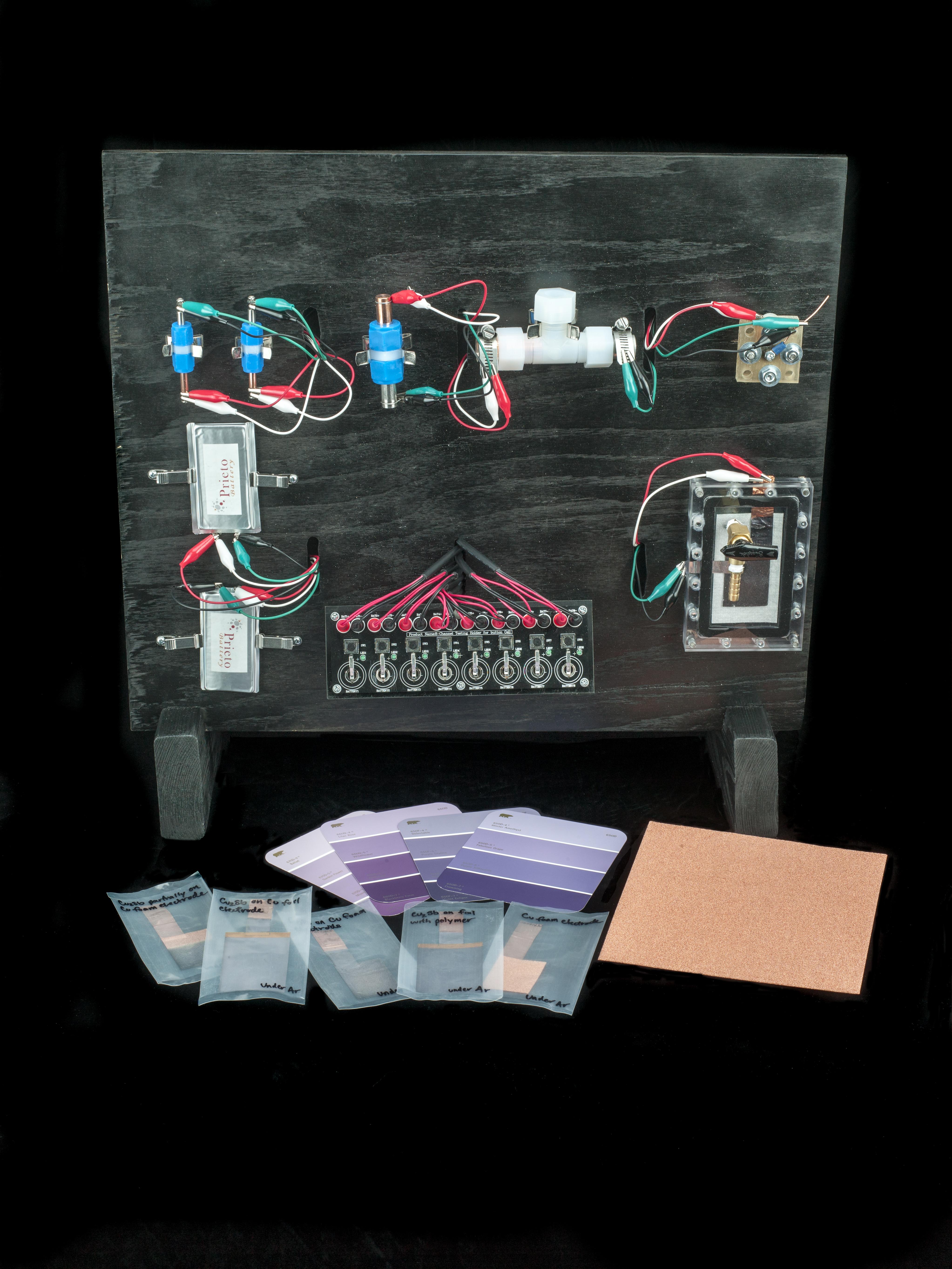 Prieto Prototype Battery Components, 2014