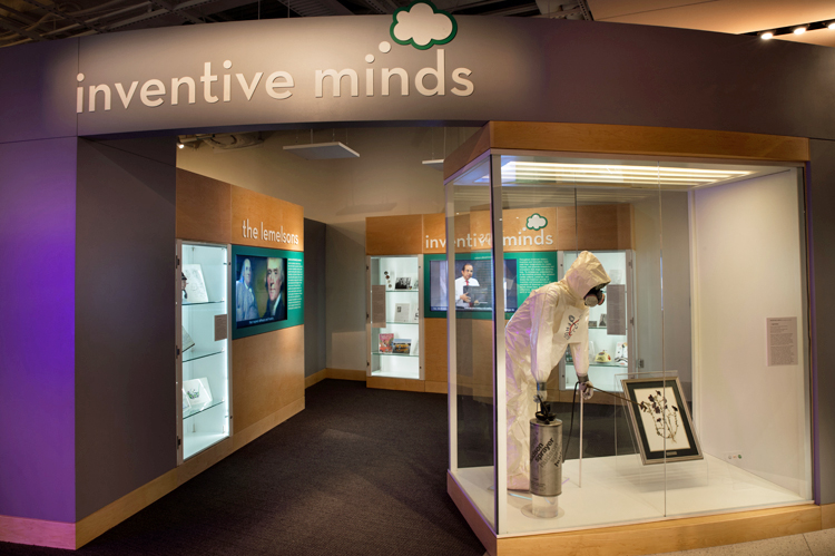 View into Inventive Minds Gallery