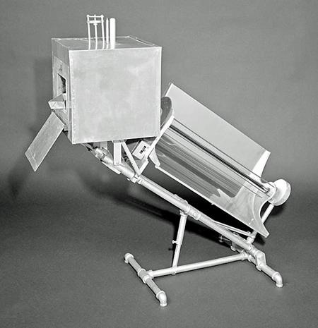 Charles G. Abbot's solar oven, 1938