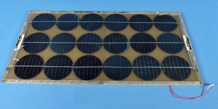 Solarex photovoltaic panel, around 1980