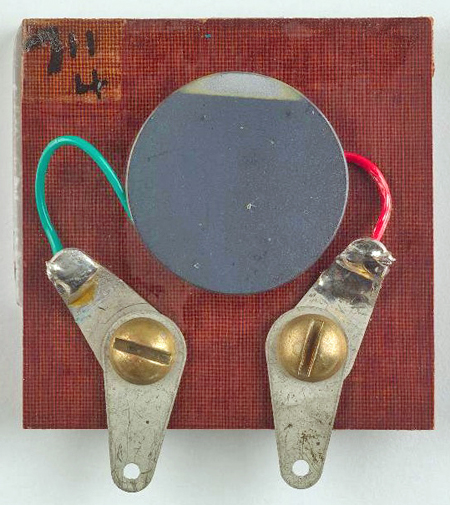 Practical solar cell invented by Daryl Chapin, Calvin Fuller and Gerald Pearson invented in 1954