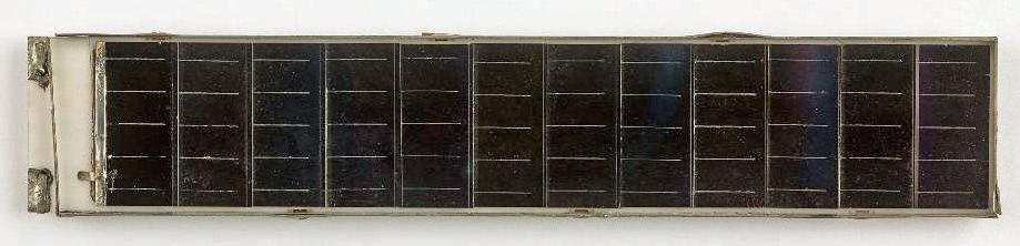 Telstar solar cell, around 1962