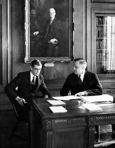 Karl T. Compton and Vannevar Bush