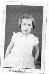 Stephanie Kwolek in first grade