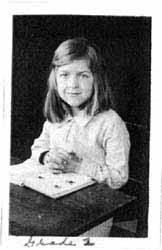 Stephanie Kwolek in grade two.