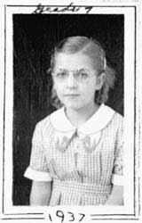 Stephanie Kwolek in grade seven.