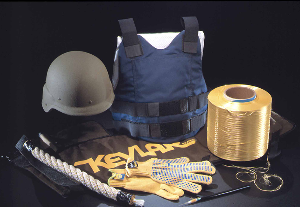 Image of products that use Kevlar