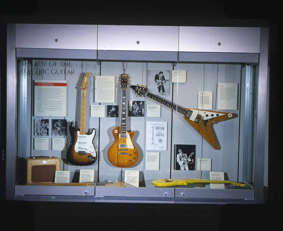 Inventing the Electric Guitar Exhibition