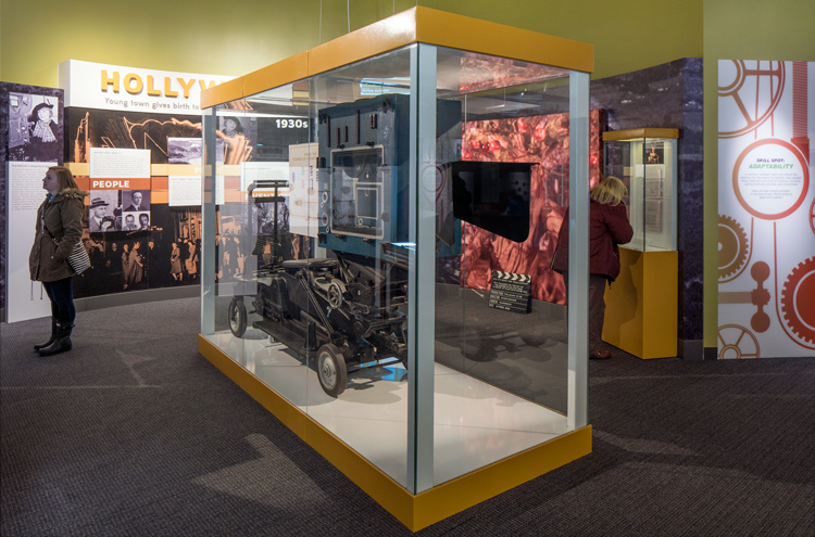 Image of Hollywood exhibition