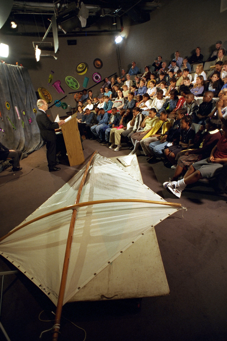Image of Newman Darby at Innovative Lives, 1999