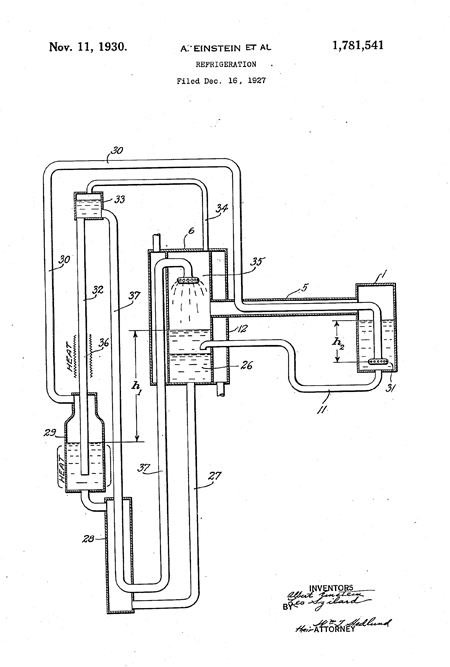 Diagram from the patent, illustrating the pump action