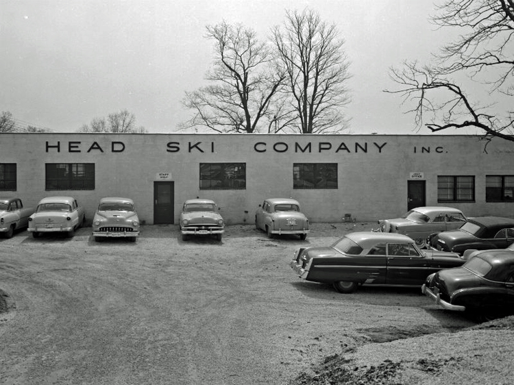 Exterior of Head Ski Company building