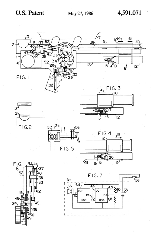 Figures from page 2 of Lonnie Johnson's US Patent 4,591,071