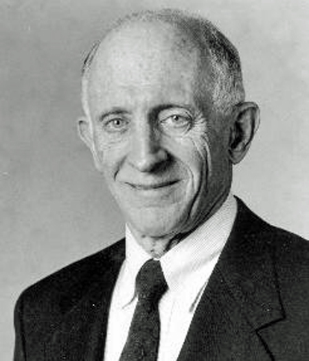 Formal portrait photo of an older Jerome Lemelson.