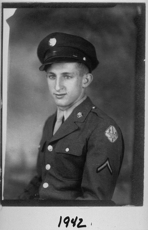 Image of Jerry Lemelson in 1942